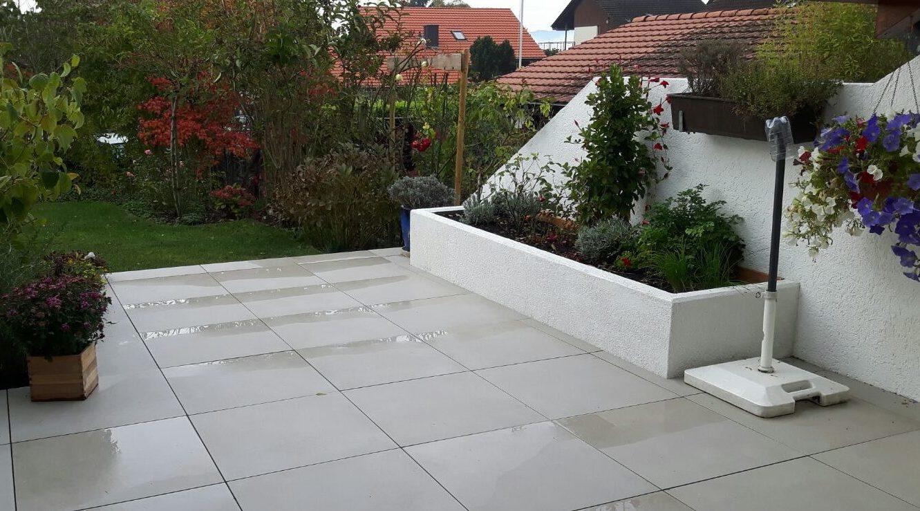 pflanztrog aus beton iv artgarten gmbh. Black Bedroom Furniture Sets. Home Design Ideas